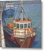Gray Mouth 1980s Metal Print