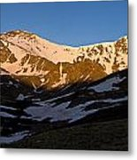 Grays Peak And Torreys Peak Panorama Metal Print