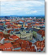 Graz Old Town Metal Print
