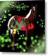 Grazing In The Grass - Featured In Visions Of The Night Group Metal Print