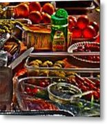 Grazing Table 2 Metal Print