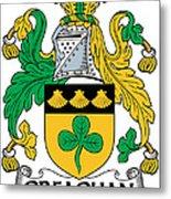 Greaghan Coat Of Arms Irish Metal Print