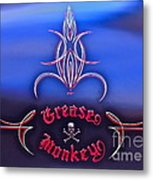 Greased Monkey Metal Print