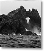 Great Arch On The Farallon Islands Metal Print