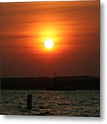 Great Ball Of Fire Metal Print
