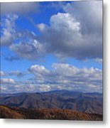 Great Balsam Mountains From Waterrock Knob Metal Print