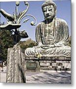 Great Buddha Of Kamakura 2 - Japan  Metal Print