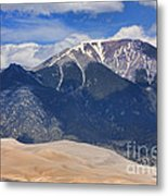 Great Colorado Sand Dunes 125 Metal Print