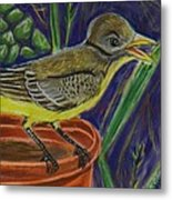 Great Crested Flycatcher Metal Print