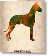 Great Dane Poster Metal Print