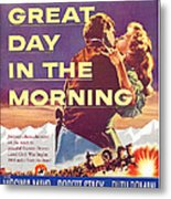 Great Day In The Morning, Us Poster Metal Print