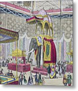 Great Exhibition, 1851 Indian Metal Print