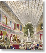 Great Exhibition, 1851 South Transept Metal Print