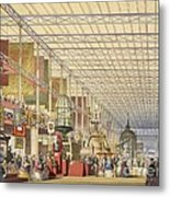 Great Exhibition Of 1851, British Nave Metal Print
