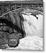 Great Falls In Paterson Nj Metal Print