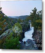 Great Falls Md Hdr 2 Metal Print