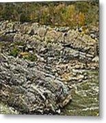 Great Falls Panorama Metal Print