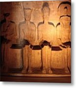 Great Gods Of Temple Metal Print