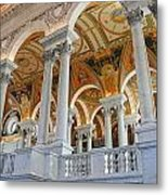 Great Hall Of The Library Of Congress  Metal Print