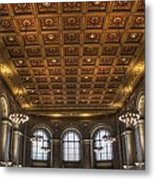 Great Hall St. Louis Central Library Metal Print