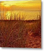 Great Lake Great Sunset 2 Metal Print