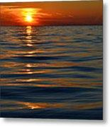 Great Lake Sunset Metal Print
