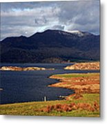 Lakes Of Ireland, Waterville, County Kerry Metal Print