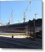 Great Lakes Ship Polsteam 4 Metal Print