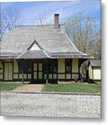 Great Meadows Railroad Station In N J Metal Print