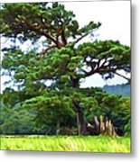 Great Pine Metal Print