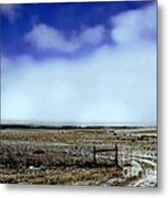 Great Plains Winter Metal Print