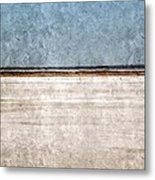 Great Salt Plains Metal Print