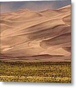 Great Sand Dunes In Colorado Metal Print