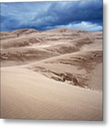 Great Sand Dunes National Park In Colorado Metal Print