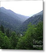 Great Smokey Mountains Metal Print