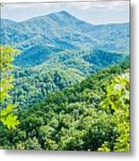 Great Smoky Mountains National Park Near Gatlinburg Tennessee. Metal Print