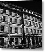 Great Southern Hotel Originally The Railway Hotel Built In 1845 On Eyre Square Galway City County Galway Republic Of Ireland Metal Print