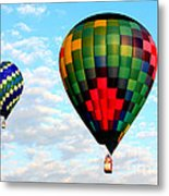 Great Texas Balloon Races Metal Print