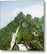 Great Wall 0033 - Oil Stain Sl Metal Print
