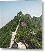 Great Wall 0033 - Pastel Chalk 2 Sl Metal Print