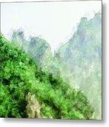 Great Wall 0043 - Academic Metal Print