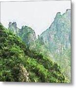 Great Wall 0043 - Oil Stain Sl Metal Print