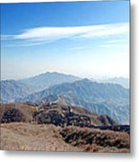 Great Wall Of China - Mutianyu Metal Print
