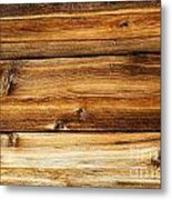 Great Weathered Wood Background Metal Print