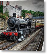 Great Western Locomotive Metal Print