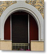 Greek Architecture Metal Print