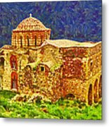 Greek Church 6 Metal Print