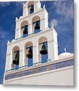 Greek Church Bells Metal Print
