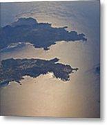 Greek Islands In The Aegean Sea   #7428 Metal Print