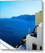 Greek Mediterranean Metal Print